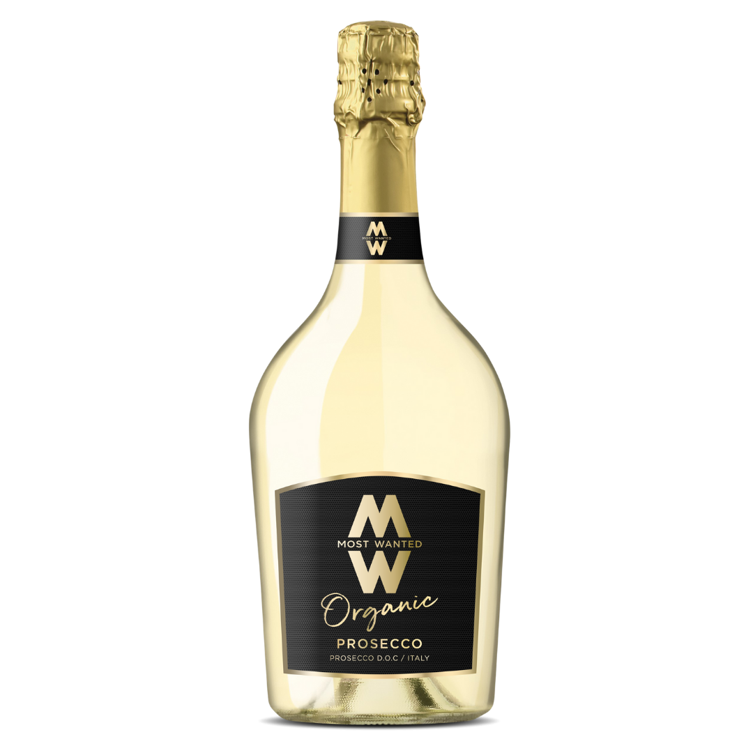 Most Wanted Organic Prosecco 6x75cl