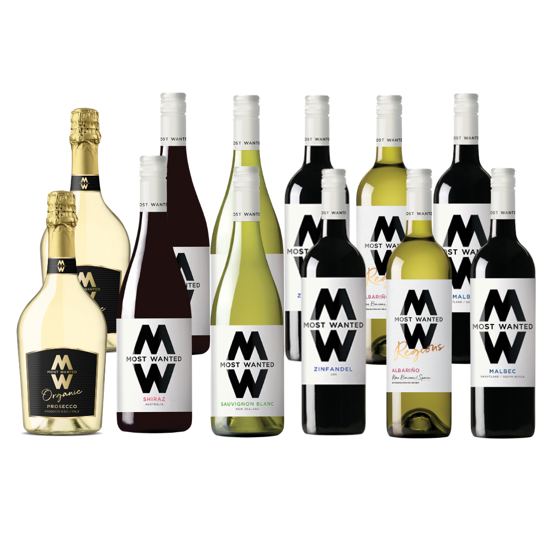 Your Most Wanted Wine Case with Prosecco (12x75cl)