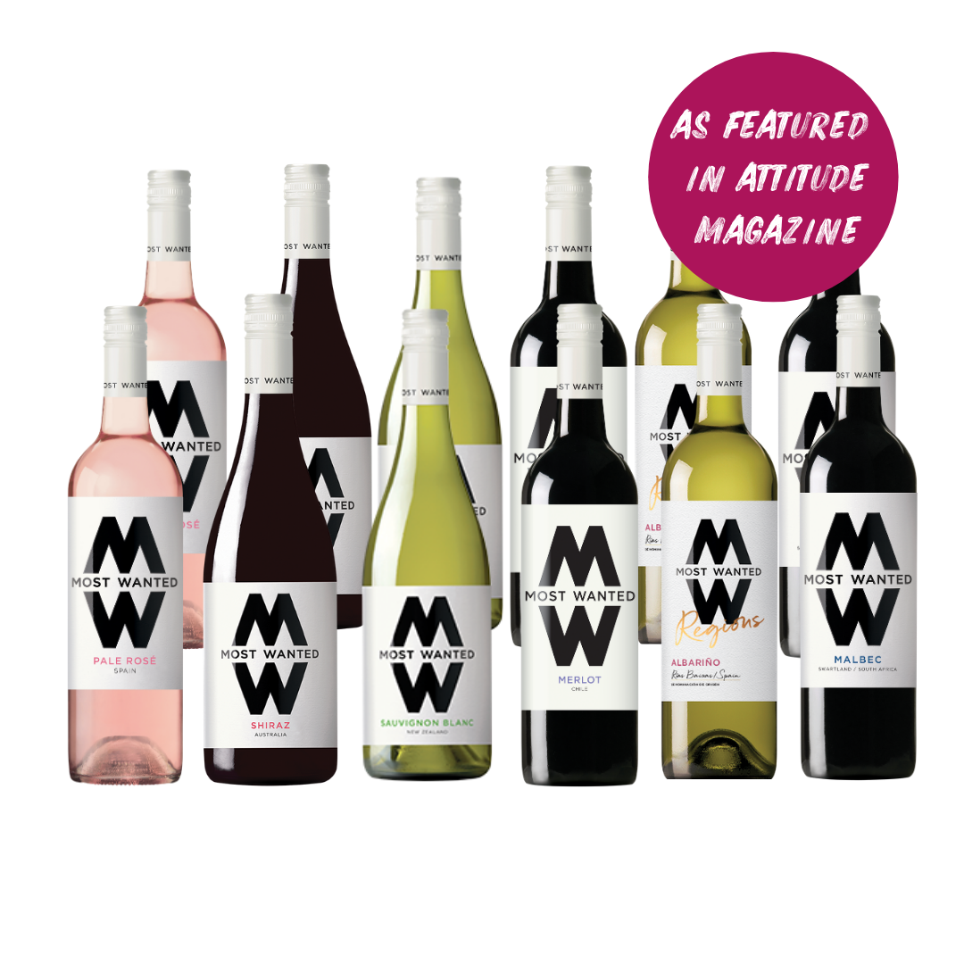 Your Most Wanted Wine Case with Rosé (12x75cl)