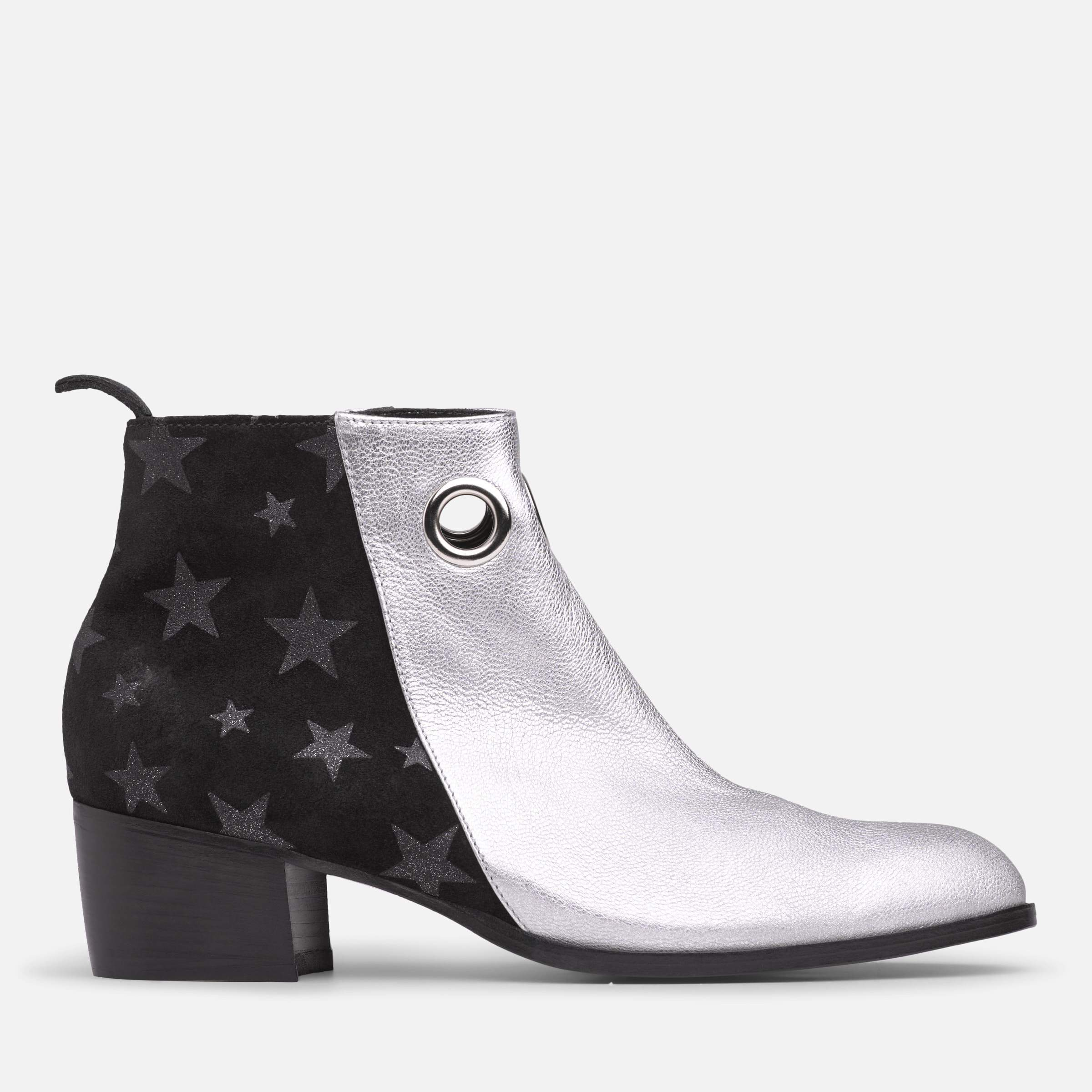 STAR EYELET BOOTIE (AVAILABLE NOW)