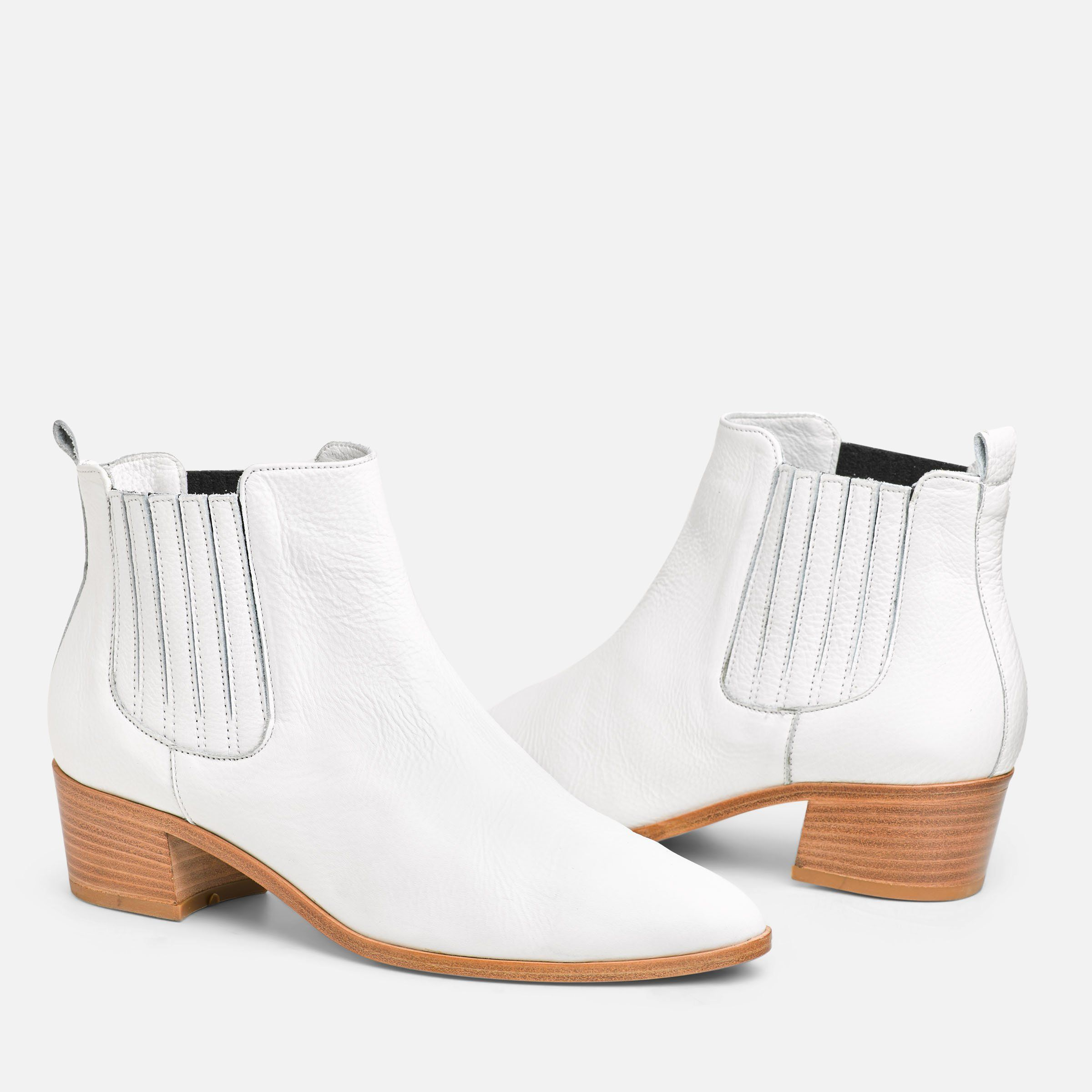 Modern Vice Handler Leather Bootie