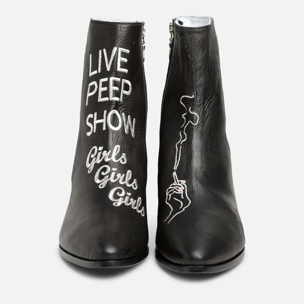 SANTA MONICA PEEP BOOT