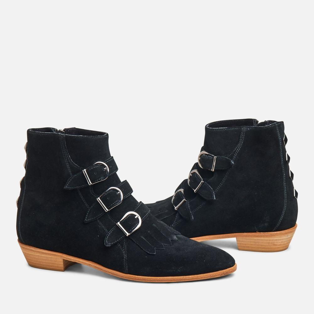 JETT CLASSIC BLACK SUEDE/NATURAL SOLE