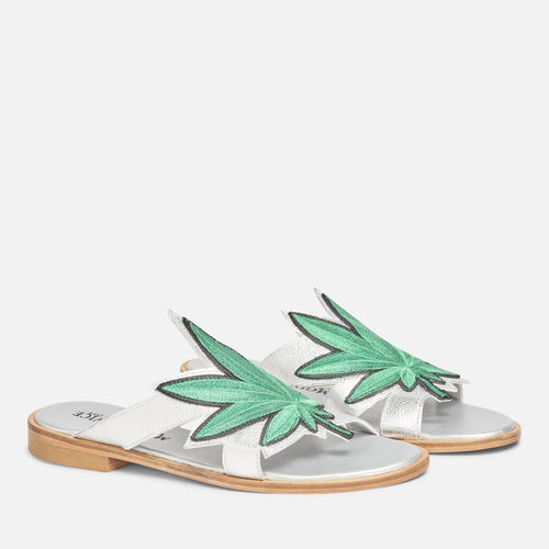 WEED PATCH SANDAL