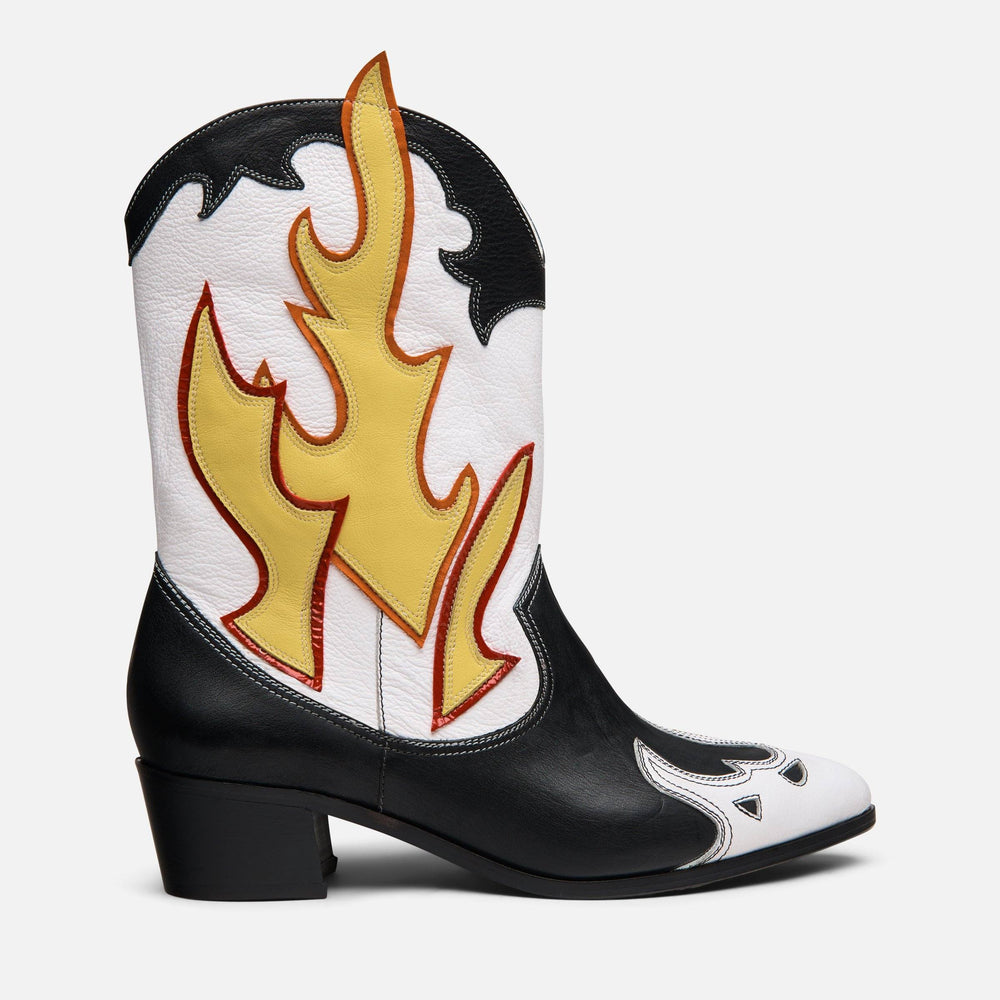 WESTERN FLAME BOOT