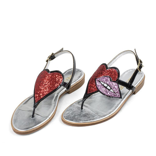 LOVELY LIPS SANDAL