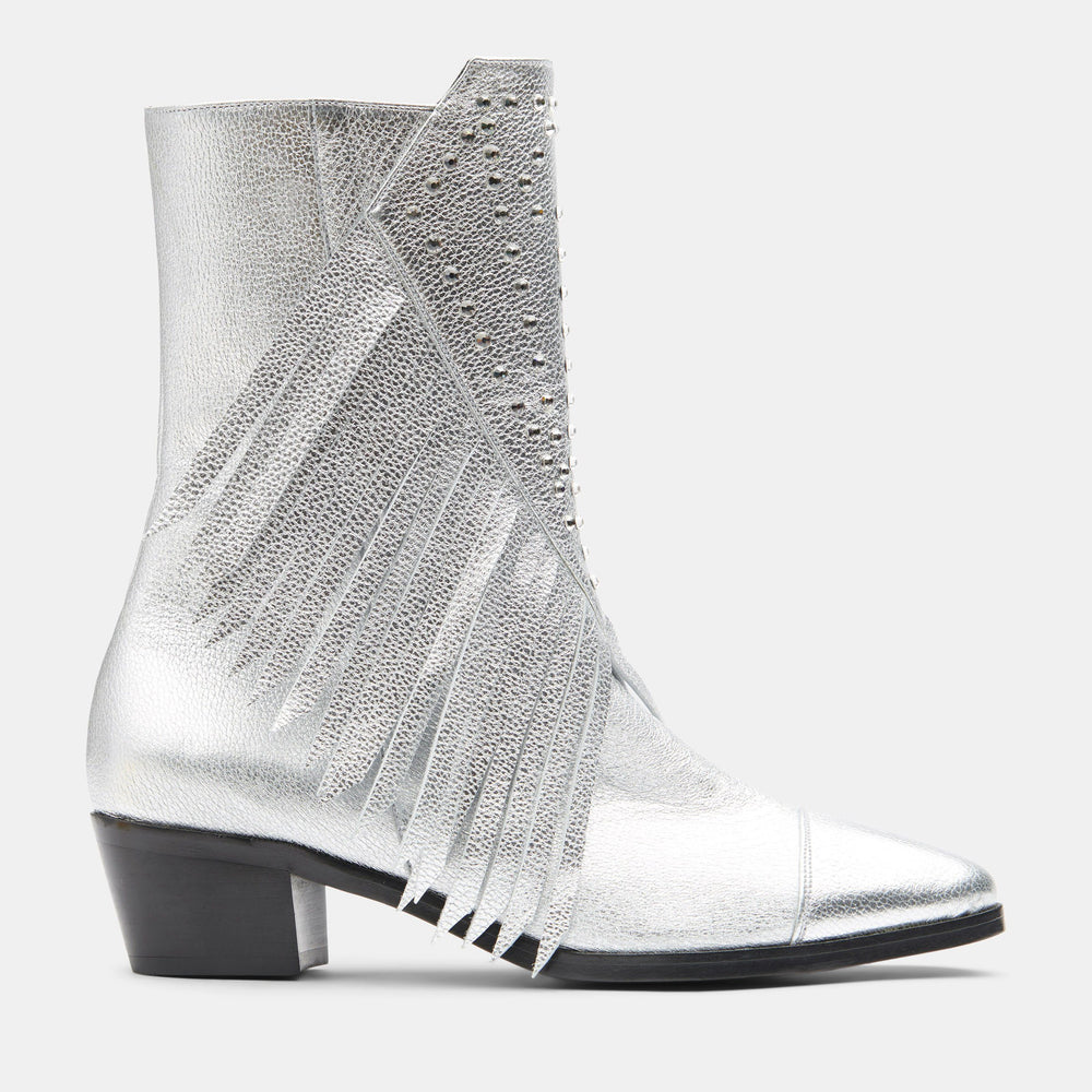 DIAMOND FRINGE BOOT