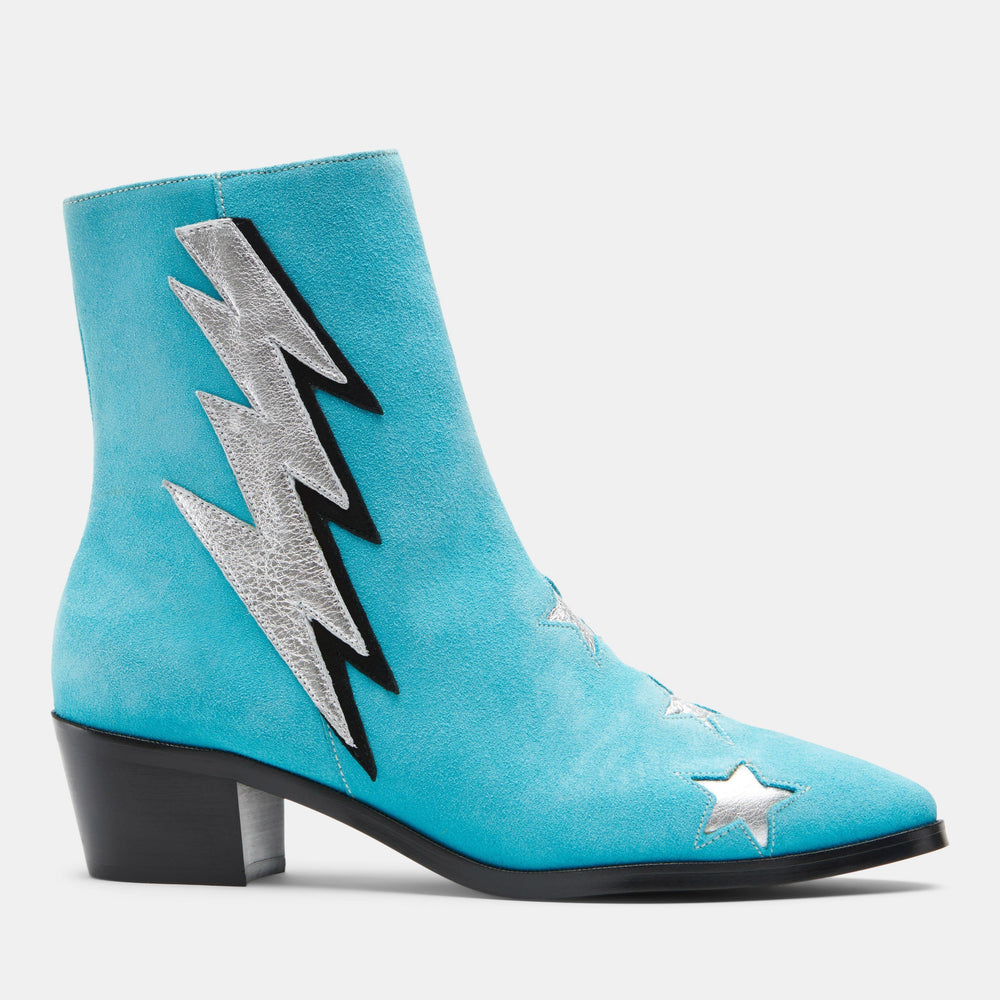 THE ORIGINAL BOLT TURQUOISE SUEDE