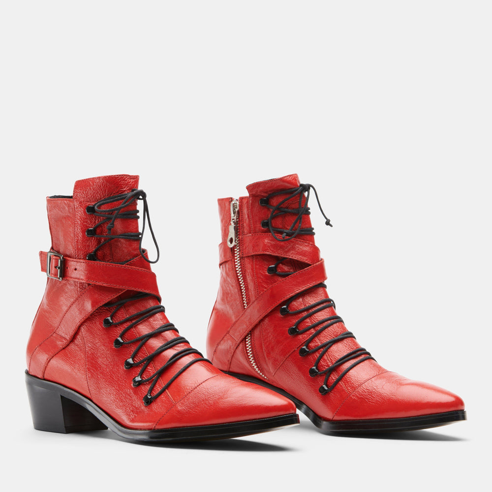 NIKKI RED PATENT