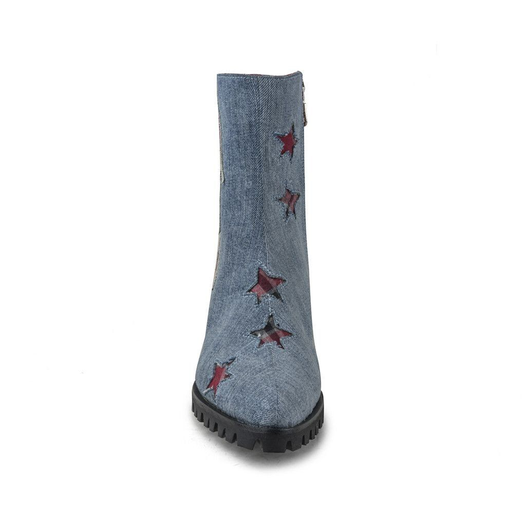 SPECIAL EDITION DENIM BOLT HANDLER TALL W/ ZIPPER
