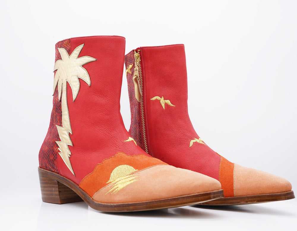 PARADISE PALM TREE BOOT