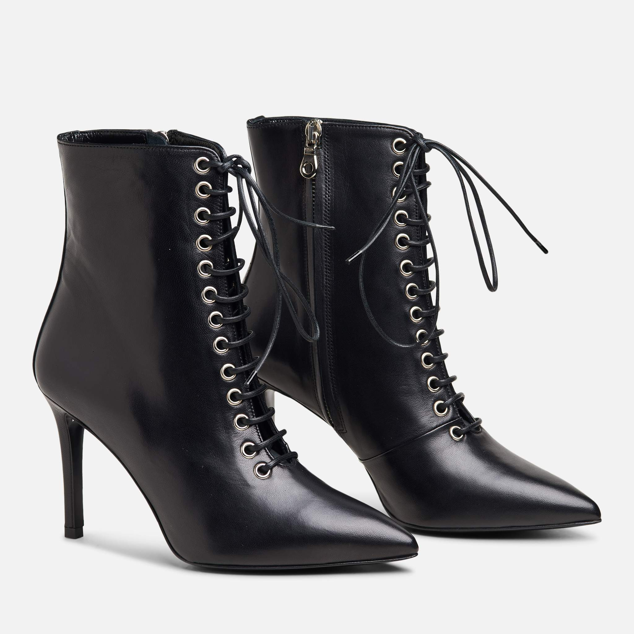 THE DELANCEY BOOT BLACK
