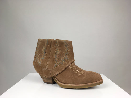 FOLD-OVER WESTERN BOOTIE