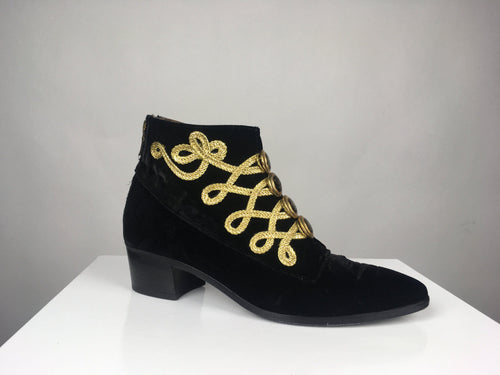 MJ BUTTON BOOTIE