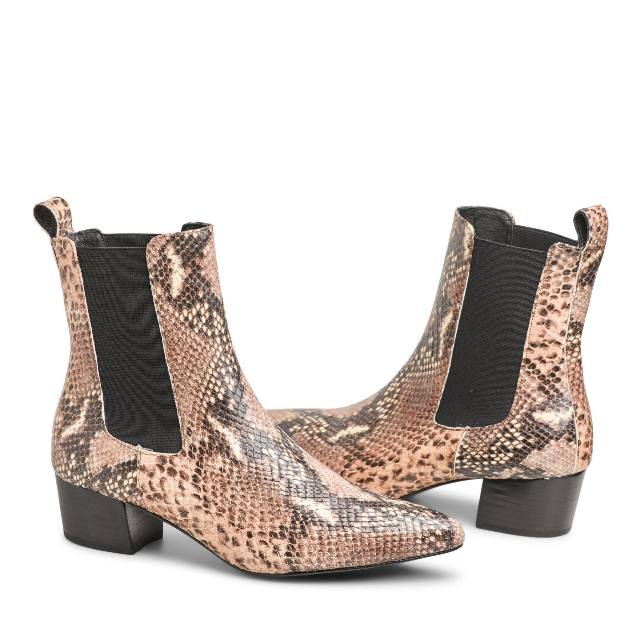 THE MERCER BOOT SNAKESKIN