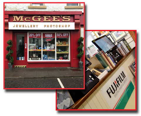MCGEES Photo centre Killybegs