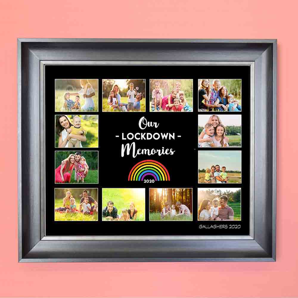 2020 Our Lockdown Memories Photo Collage