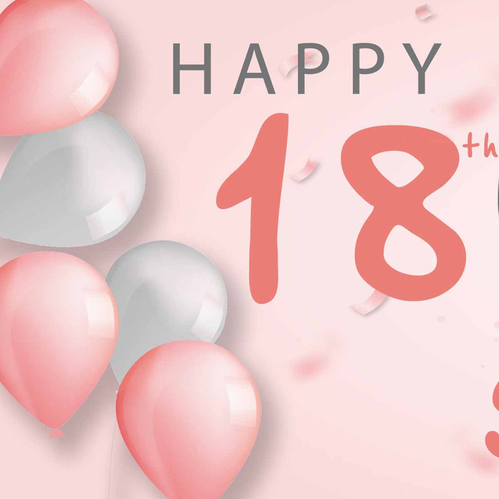 It A Balloon 18th Personalised Photo Collage Banner