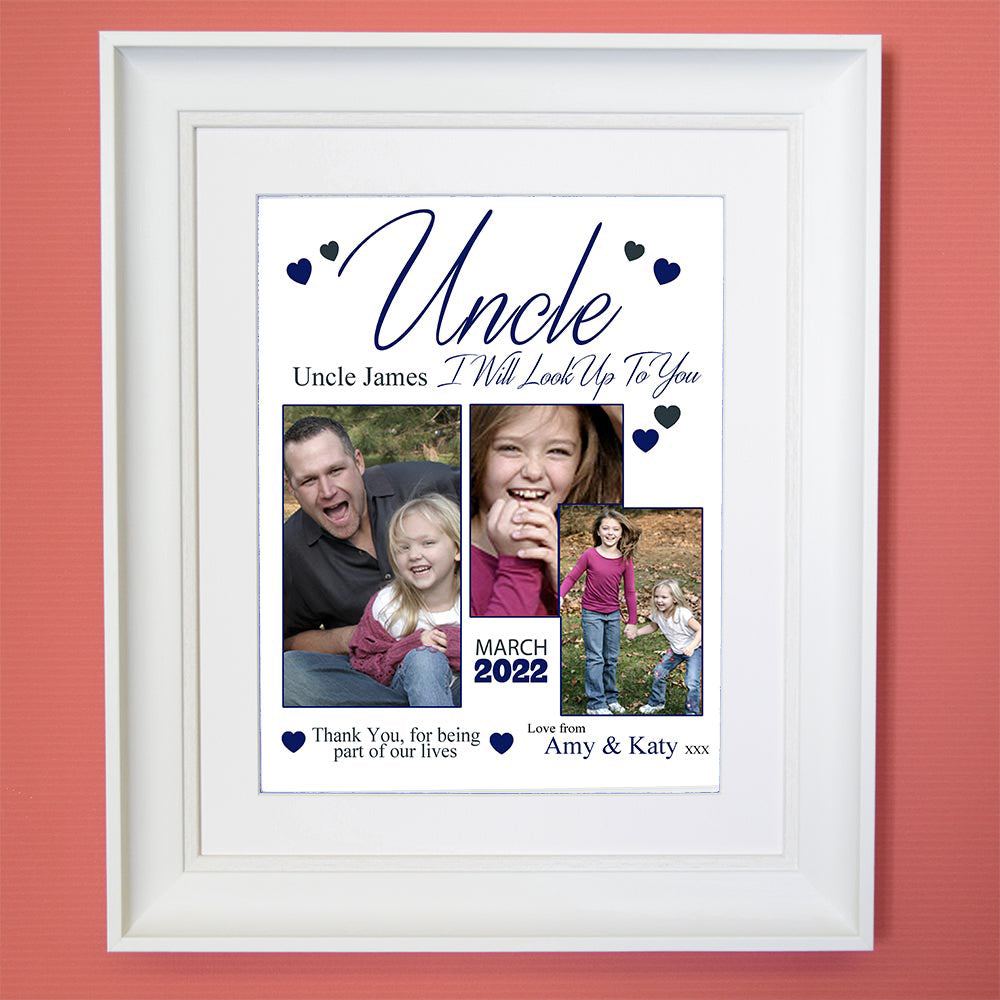 I Will Look Up To You  Sentiment Gift Frame - Do More With Your Pictures