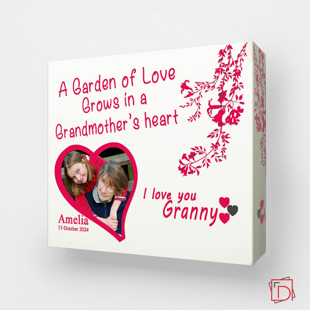 Grandmothers Love, A Garden Wall Art - Do More With Your Pictures