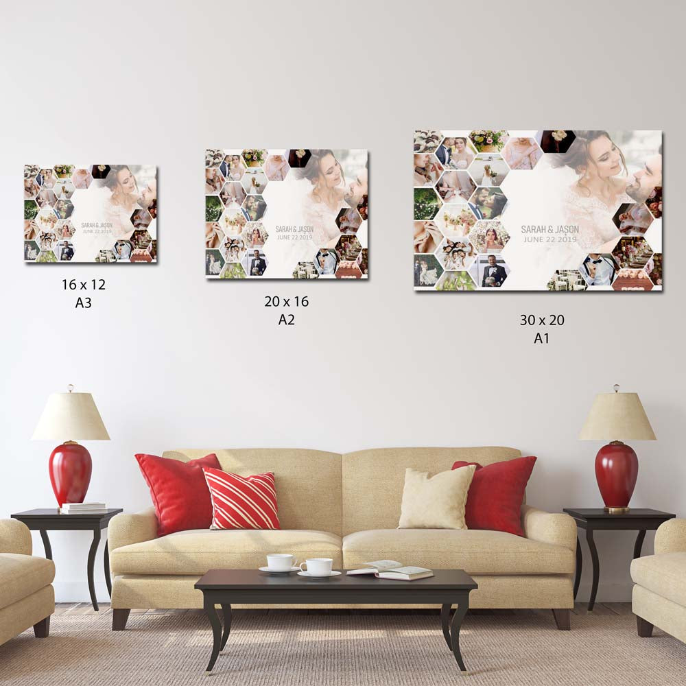 Wedding Collage Do Say Yes On Canvas