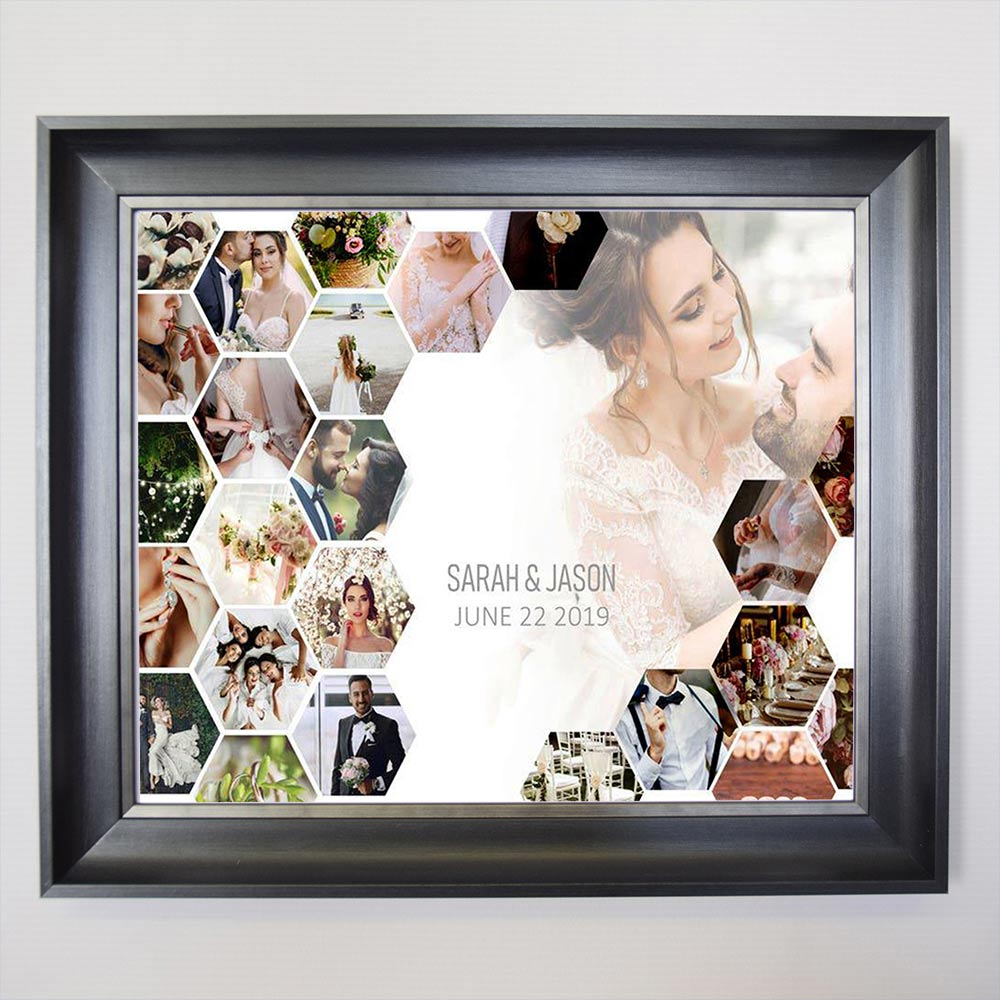 I Do Say Yes Framed Photo Collage - Do More With Your Pictures
