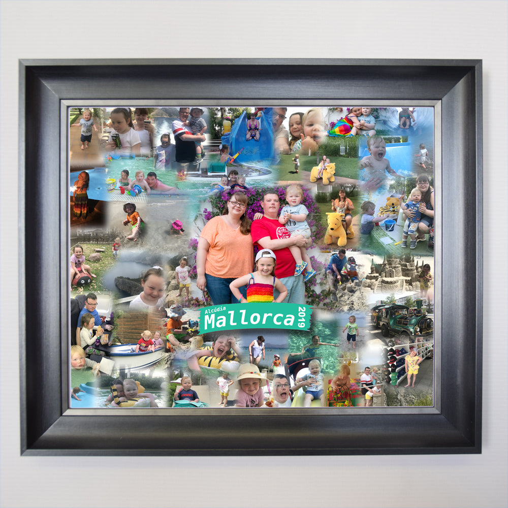 Fun Abroad Framed Photo Collage