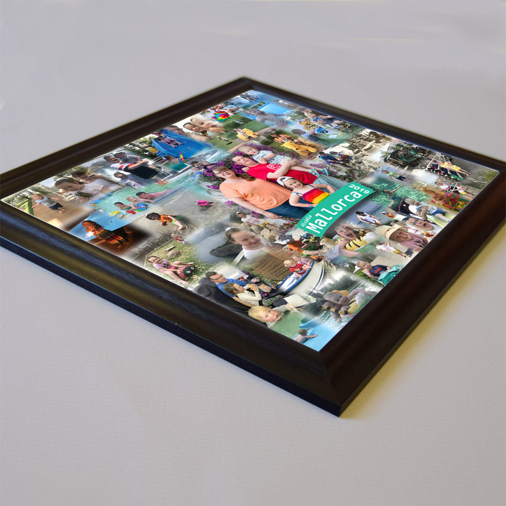 Fun Abroad Framed Photo Collage - Do More With Your Pictures