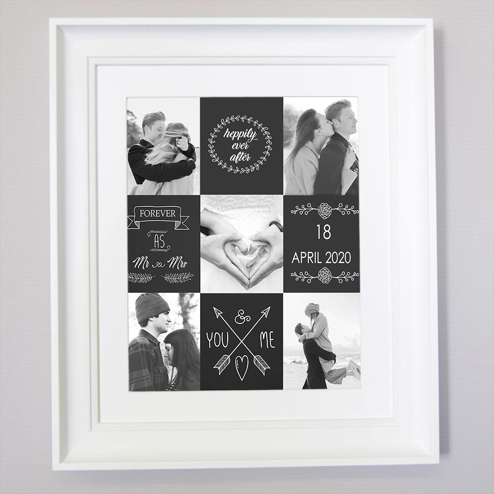 You And Me Happily Ever After Wall Art