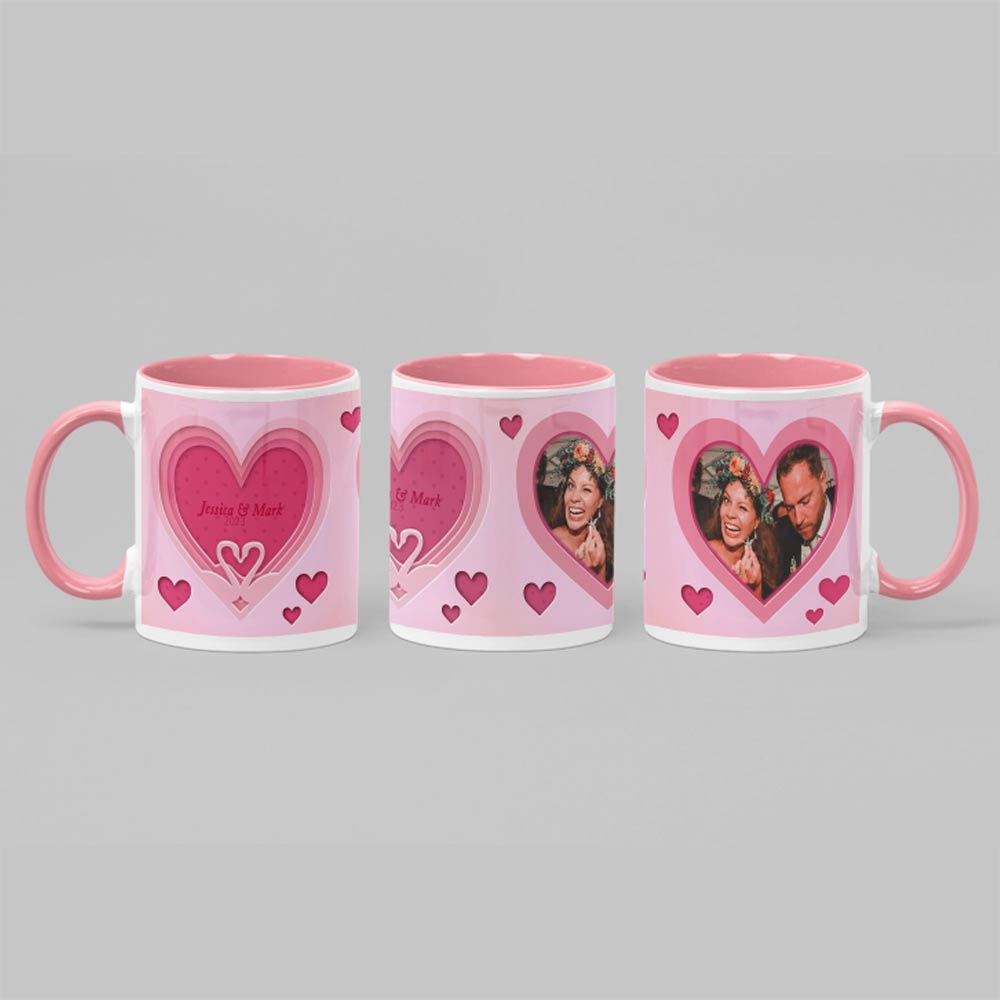 To Have and To Hold couples Personalised Photo mug