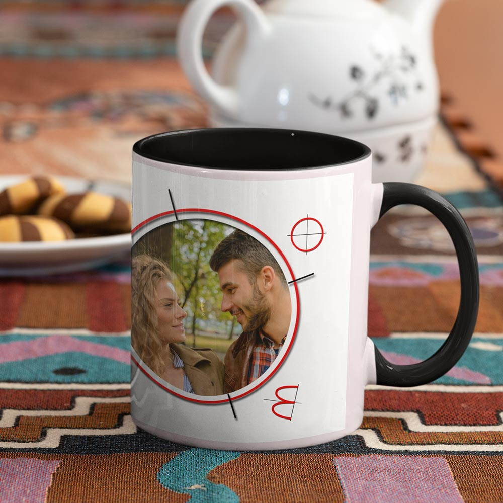All You Need Is Love Couples Personalised Photo Mug