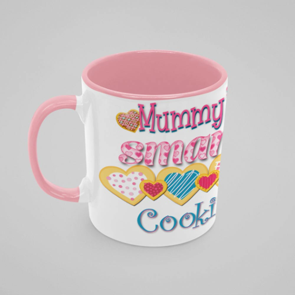 Mammys Smart Cookie Personalised Photo Mug