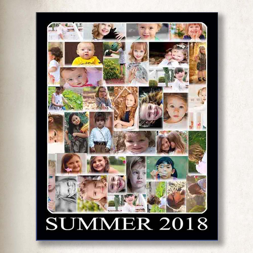This Summer Photo Collage On Canvas