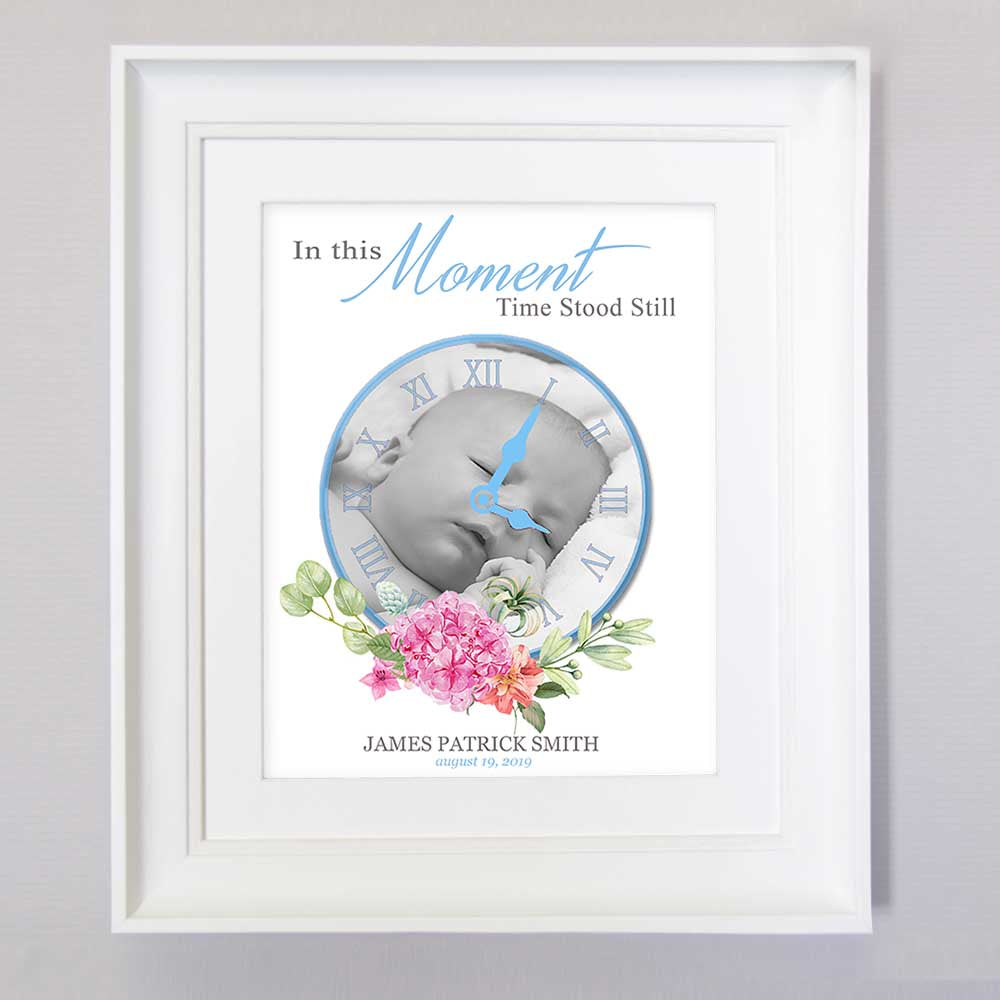 In This Moment Time Stood Still Rose Boy Wall Art - Do More With Your Pictures