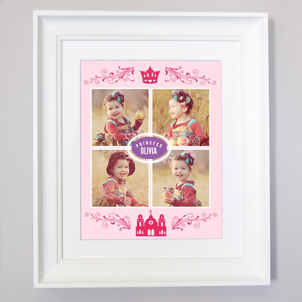 Our Princess Collage Wall Art