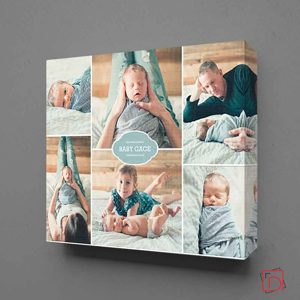 Baby's Best New Born Photo Collage - Do More With Your Pictures
