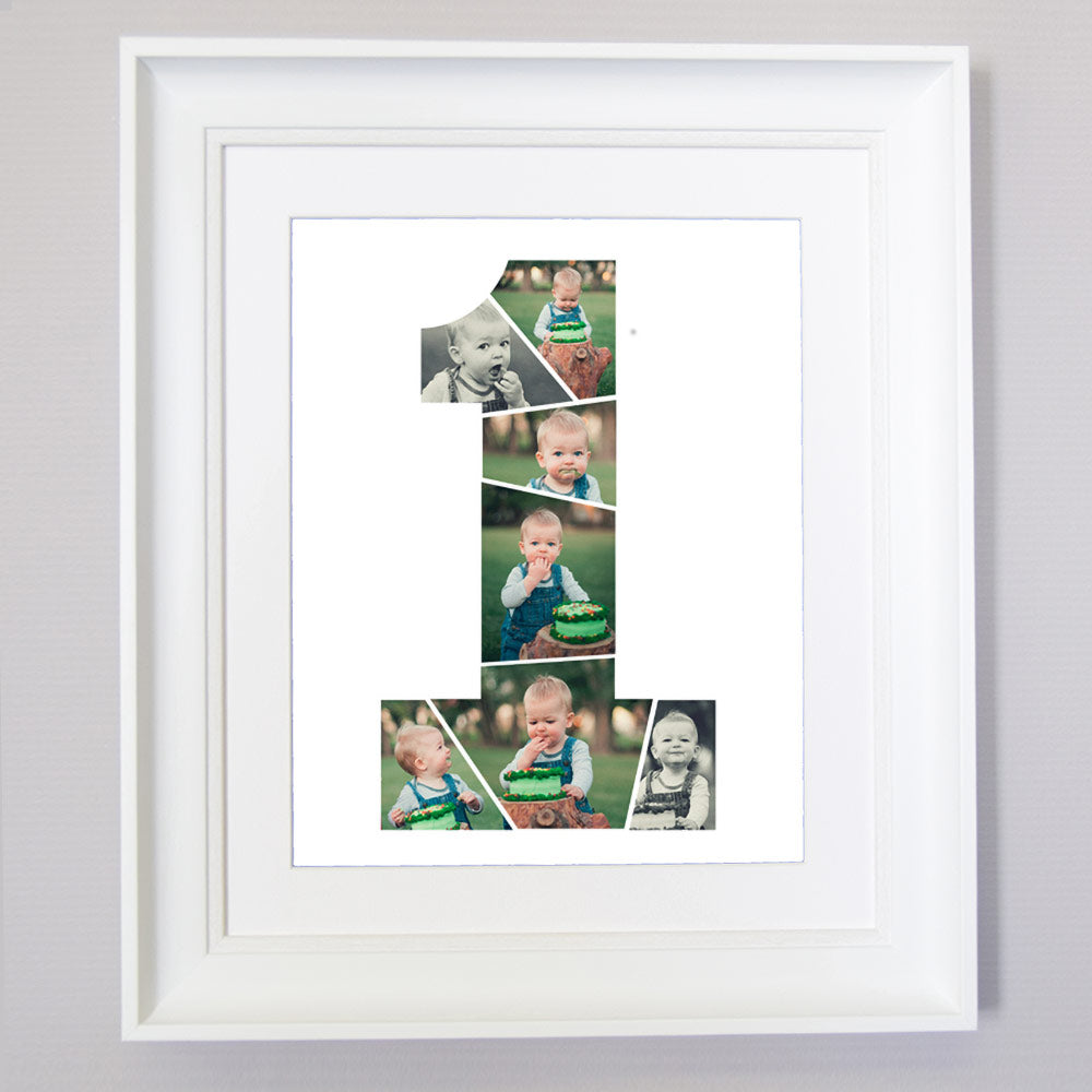 First Moments Photo Collage Wall Art - Do More With Your Pictures