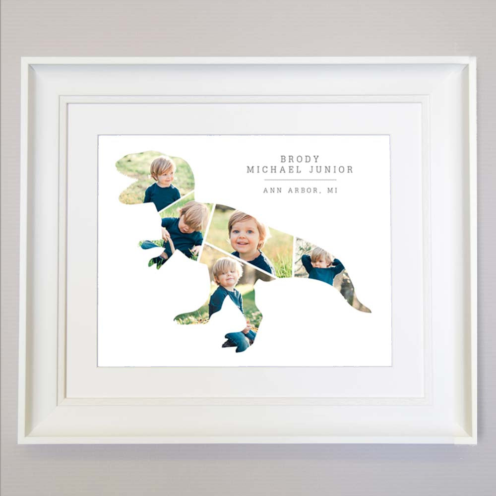 Dinosaur Design Picture Wall Art