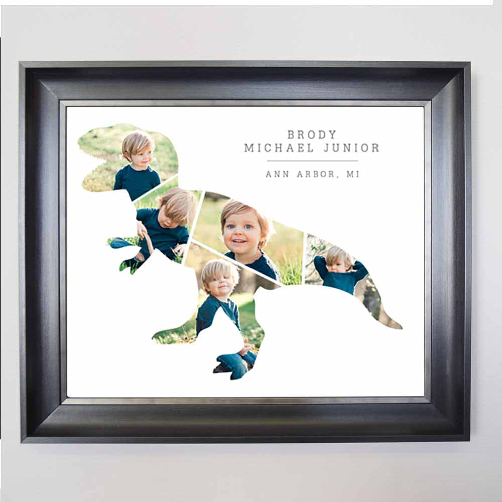 Jurassic Me Framed Photo Collage - Do More With Your Pictures