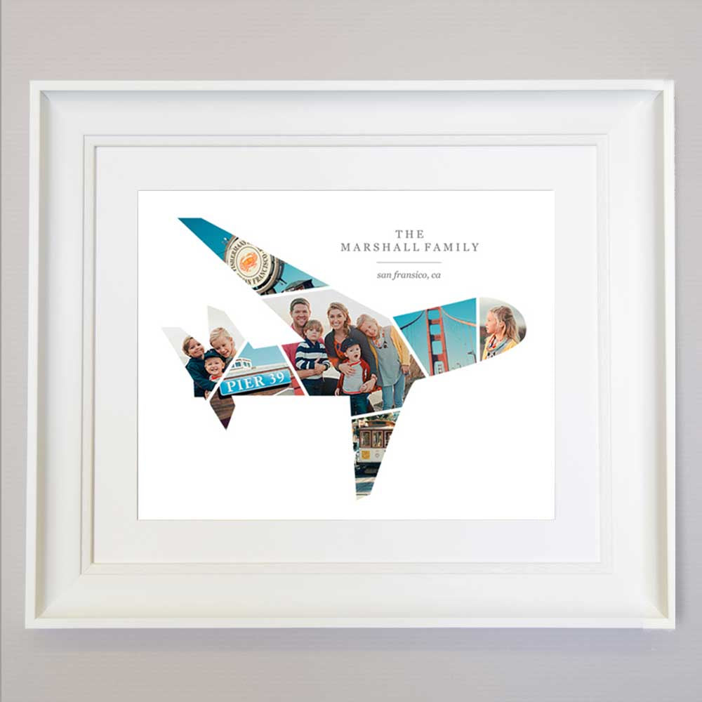 Plane  Design  familys holidays photos Frame Suit Product