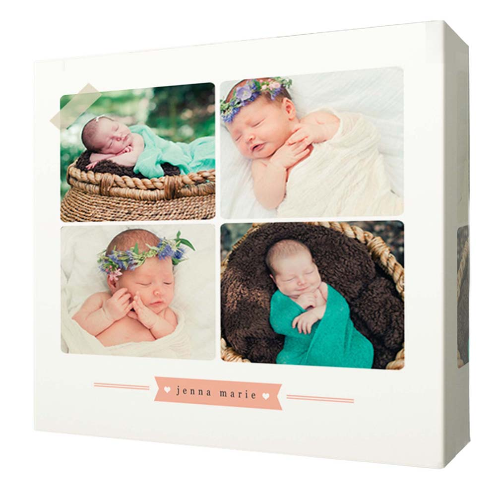 Birth Announcement Framed Photo Collage