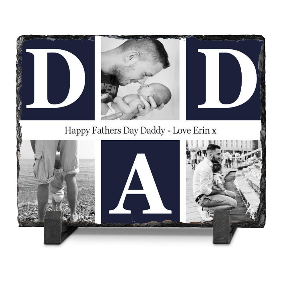 Dad We Love You Photo Slate