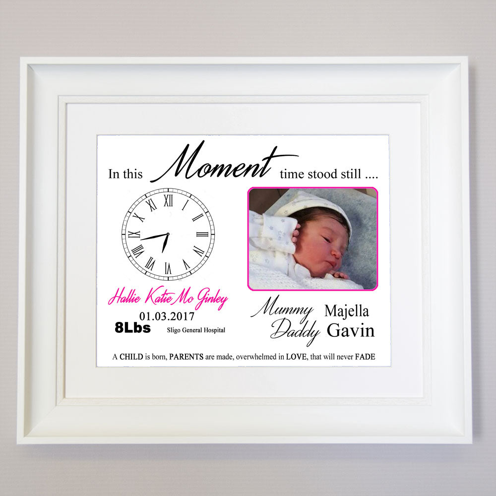 In this Moment Time Stood Still Square Wall Art - Do More With Your Pictures