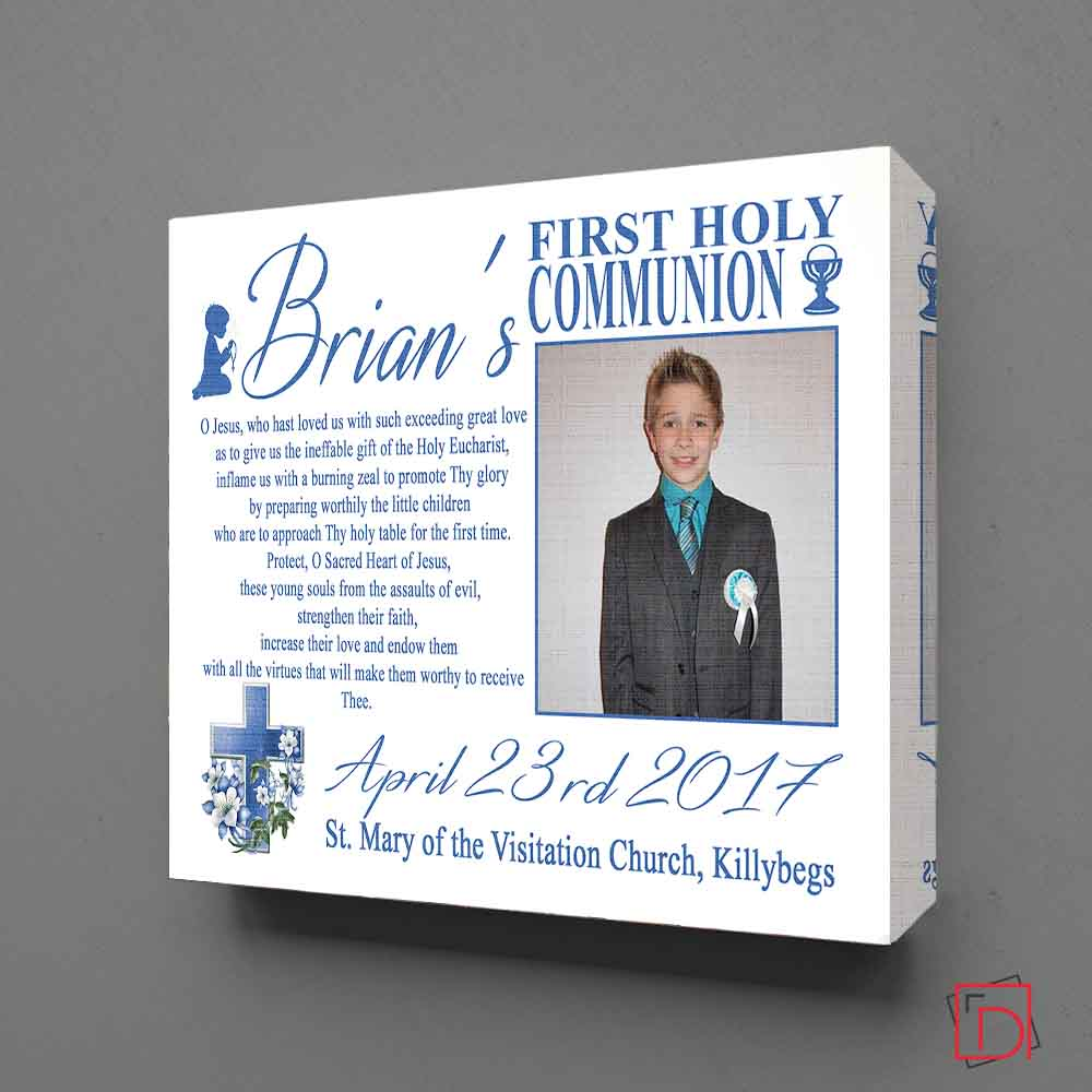 Personalised First Holy Communion  Sentiment Suit Product