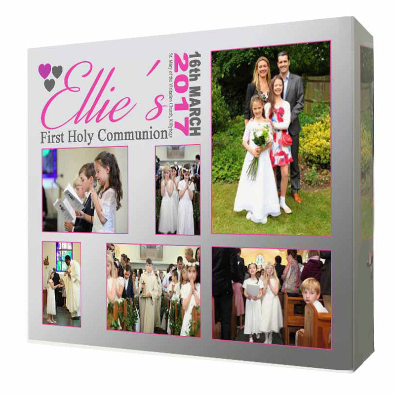 A Special Day 1st Communion Framed Photo Collage - Do More With Your Pictures