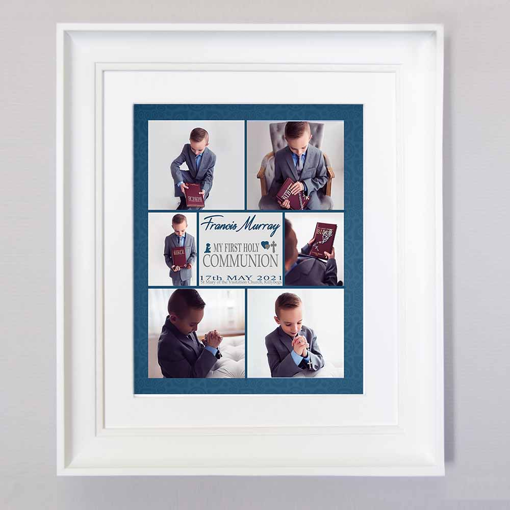 A Special Day Communion Photo Collage Wall Art - Do More With Your Pictures
