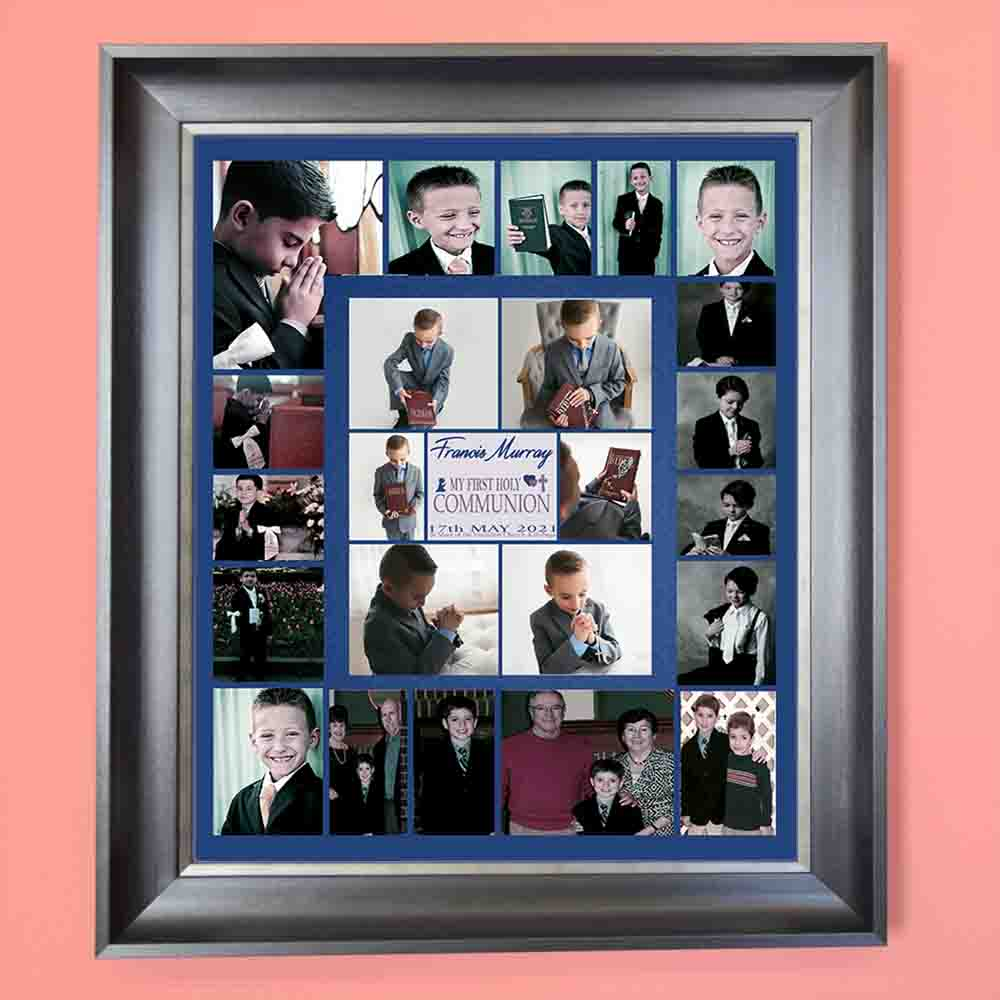 A Special Day Communion Photo Collage Wall Art