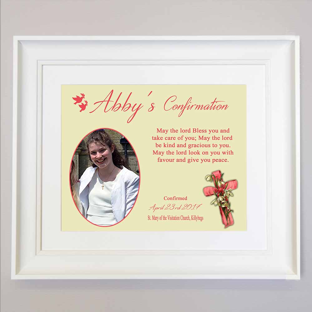 Close To Jesus Confirmation Photo Collage Wall Art