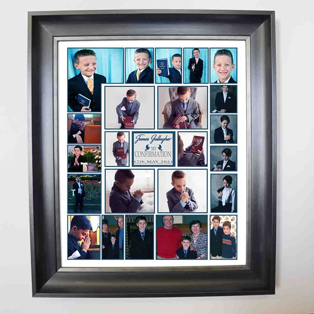 A Special Confirmation Day Framed Photo Collage - Do More With Your Pictures