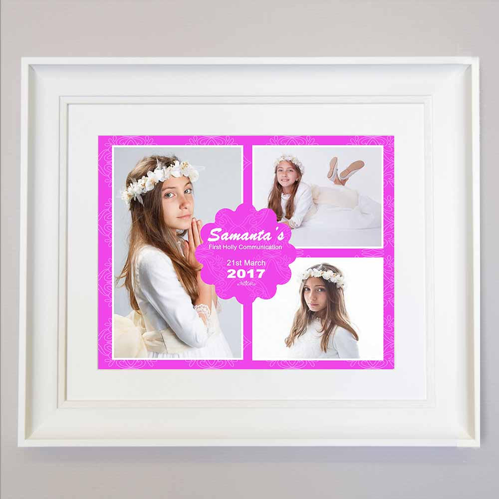 Meant To Be Confirmation Photo Collage Wall Art